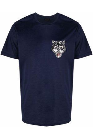Billionaire Men Short Sleeve - Wolf-print T-shirt