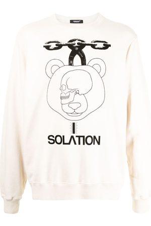 UNDERCOVER Men Sweatshirts - Solation-print sweatshirt
