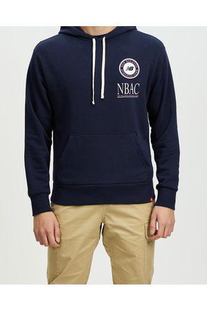 New Balance NB Essentials Athletic Club Hoodie - Hoodies (Eclipse) NB Essentials Athletic Club Hoodie
