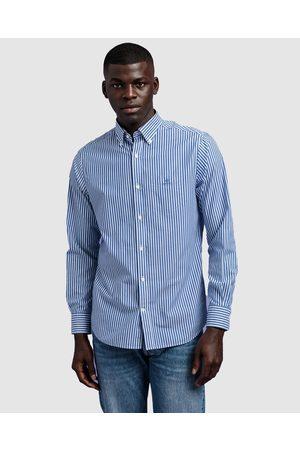 Gant Broadcloth Stripe Button Down - Shirts & Polos (COLLEGE ) Broadcloth Stripe Button Down