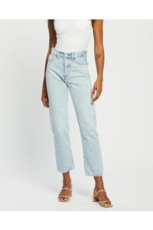 Levi's Wedgie Straight Jeans - Crop (Montgomery Baked) Wedgie Straight Jeans