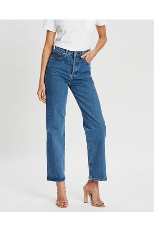 Levi's Ribcage Straight Ankle Jeans - High-Waisted (Georgie) Ribcage Straight Ankle Jeans
