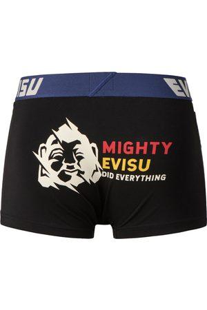 Evisu Men Boxer Shorts - Godhead Print Trunks