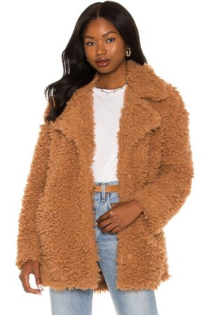 Steve Madden What's The Fuzz About Faux Fur Coat in .