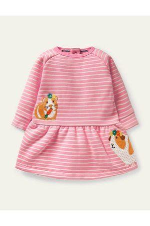 Boden Cosy Sweatshirt Dress Baby