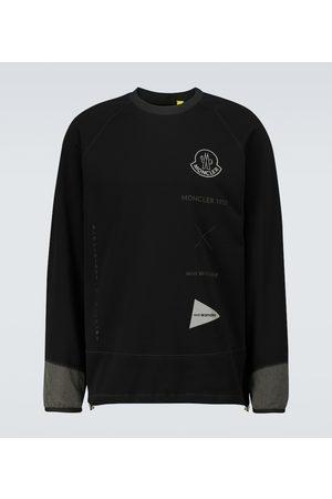 Moncler Genius 2 MONCLER 1952 long-sleeved logo sweatshirt