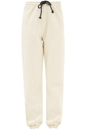 Made In Tomboy Pam Cotton-jersey Track Pants - Womens - Ivory