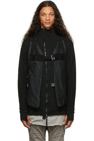 11 BY BORIS BIDJAN SABERI Men Gilets - Leather Bag Vest