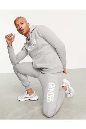 Gym 365 Men Tracksuits - Jersey tracksuit in grey