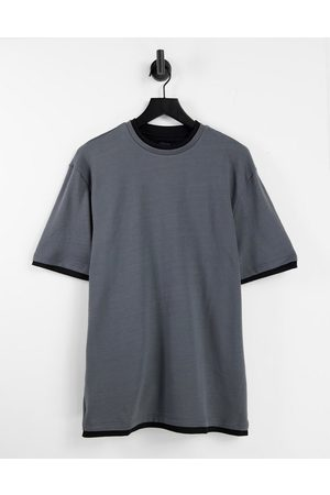 River Island Double layer block t-shirt in