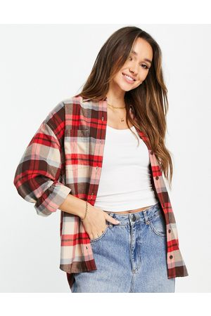 Levi's Women Shirts - Utility shirt in plaid-Red