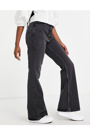 Levi's 70s flare jeans in washed black