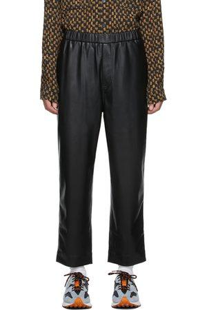 Nanushka Men Leather Pants - Vegan Leather Gabe Trousers