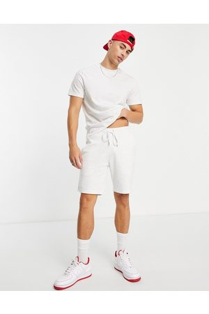 ASOS DESIGN Tracksuit with t-shirt and skinny jersey shorts in