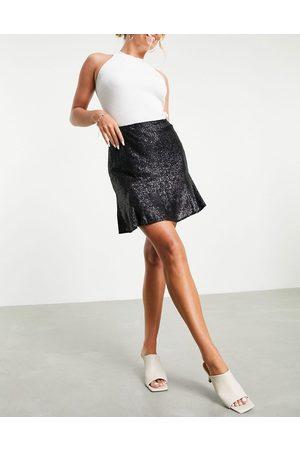 Whistles Women Mini Skirts - Carly sequin mini skirt co-ord in