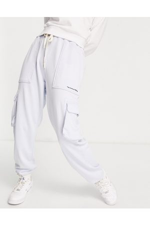 Replay Cargo pant trackies co-ord in blue