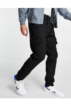 Selected Homme Slim tapered cargo pants in