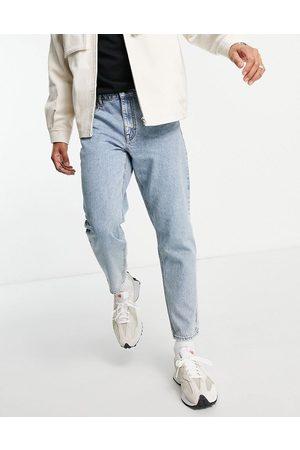 ASOS Men Straight - Classic rigid jeans in blue