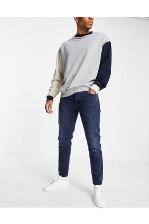 Selected Homme Men Slim - Slim tapered jeans in blue