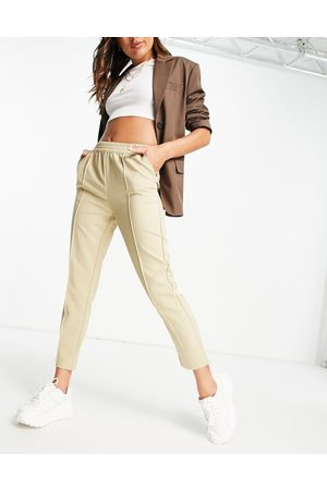 NA-KD Women Leggings - Pull on pants in -Neutral