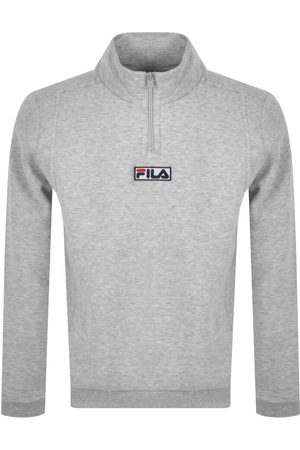 Fila Men Sweatshirts - Benta Half Zip Sweatshirt
