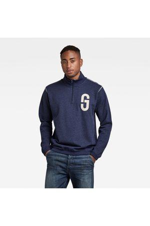G-Star RAW GS Logo Half Zip Sweater