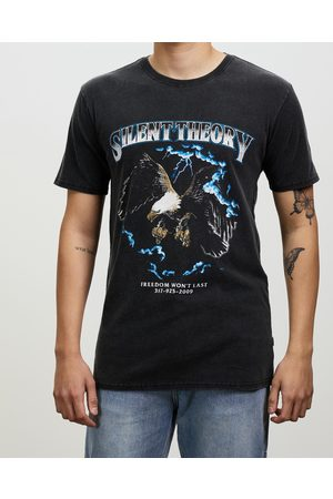 Silent Theory Men Tank Tops - Thunder Tee - T-Shirts & Singlets (Vintage ) Thunder Tee