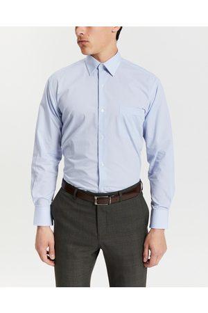 Van Heusen Men Business - Micro Gingham Check Shirt - Shirts & Polos Micro Gingham Check Shirt