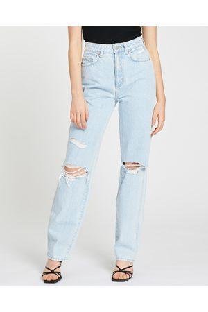 Neuw Sade Baggy Jeans - High-Waisted (Zero Dust Rip) Sade Baggy Jeans