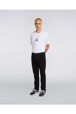 Edwin ED-80 Slim Tapered CS Ayano Black Denim, 11,8oz, Black Overdyed Jeans