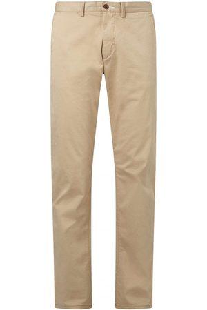 Gant Slim Fit Twill Chino Dark Khaki Colour: Dark Khaki