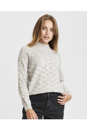 Numph Nucathay Lace Knit Jumper