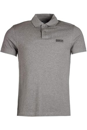 Barbour International Men Polo Shirts - Barbour Int essential polo, Colour: ANTHRACITE GY74