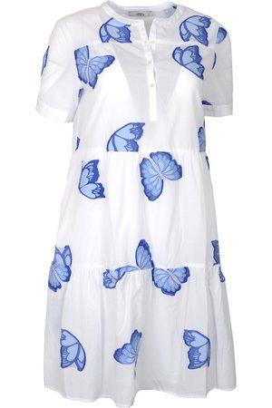 0039 Italy RICCI Knee Length Butterfly Dress &