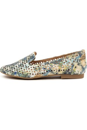 Ziera Women Loafers - Cindra Xf Zr Lemon Multi Shoes Womens Shoes Flat Shoes