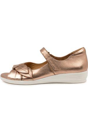 Ziera Women Flat Shoes - Disco W Zr Rose Sandals Womens Shoes Comfort Sandals Flat Sandals