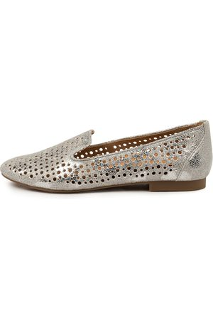 Ziera Women Loafers - Cindra Xf Zr Crackle Shoes Womens Shoes Flat Shoes