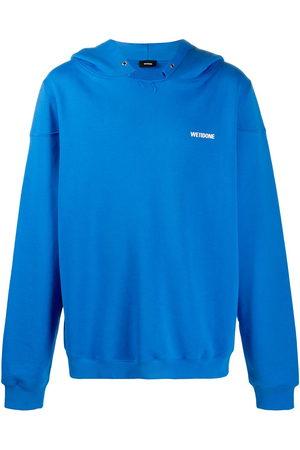 We11done Drop shoulder hoodie