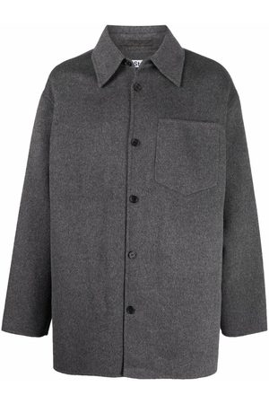 Acne Studios Button-up wool shirt jacket