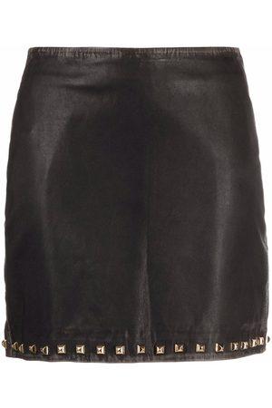 Pinko Studded mini skirt