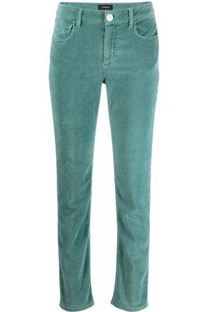 Pinko Corduroy straight-leg trousers