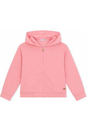 Dolce & Gabbana Kids Zip-front cotton hoodie
