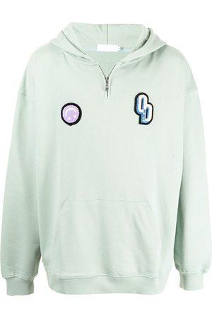 Off Duty Logo-patch hoodie