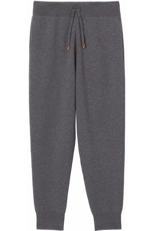 Burberry Women Joggers - Monogram-embroidered track pants