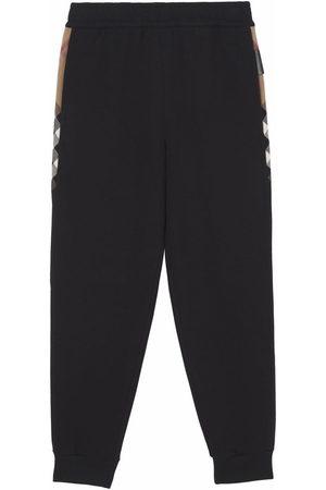 Burberry Side stripe-detail track pants
