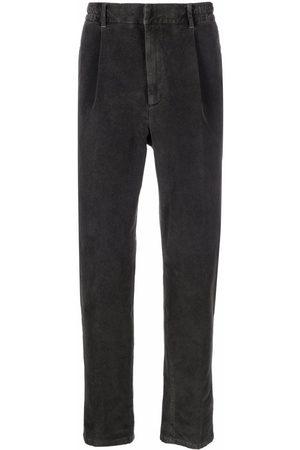 ALTEA Slim-fit velvet trousers