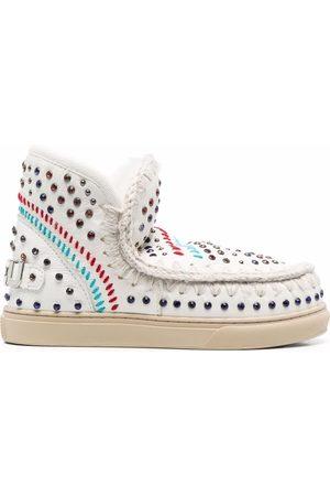 Mou Eskimo rhinestone-embellished ankle boots
