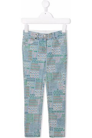 Stella McCartney Kids Produce-print jeans