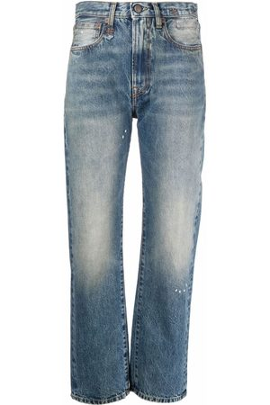 R13 Women High Waisted - High-waisted cropped jeans