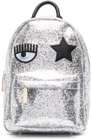 Chiara Ferragni Eye star-patch sequin-embellished backpack